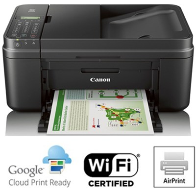 how to connect a canon mx492 printer to wifi