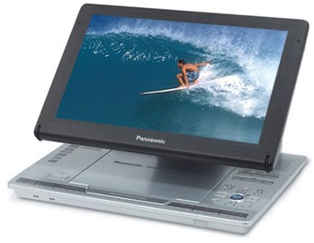 Panasonic DVD LS90 Portable Player Adjustable 9 LCD