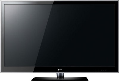 LG 55LE5400 - 55 inch 1080p 120Hz High-definition LED LCD TV - Torn
