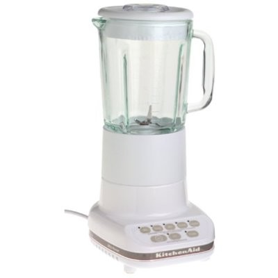 White Kitchenaid beachcamera - kitchenaid ksb5wh 5 speed ultra power 500 watt