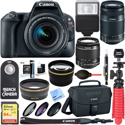 BeachCamera.com - Canon EOS Rebel SL2 DSLR Camera with EF-S 18 ...