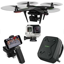 Xplorer G Quadcopter Aerial Drone w/3-Axis Gimbal GoPro HERO4 Bundle