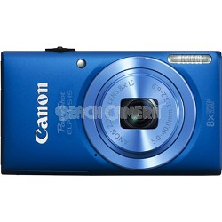 Powershot ELPH 115 IS Blue 16MP Digital Camera with 8x Opt. Zoom and Smart AUTO