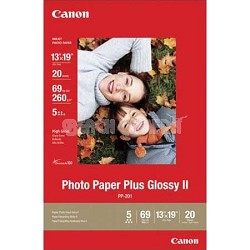 Glossy II 13 x 19in Photo Paper Plus 20 Sheets