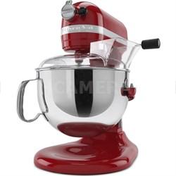 KP26M1XER Professional 600 Series 6 Quart Bowl-Lift Stand Mixer - Empire Red