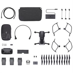 Mavic Air Quadcopter Drone - Onyx Black Fly More Combo