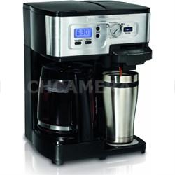 2-Way FlexBrew 12-Cup Coffeemaker - OPEN BOX