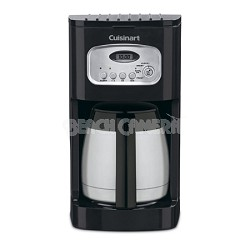 Brew Central 10-Cup Programmable Thermal Coffeemaker Factory Refurbished - Black