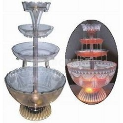 Nostalgia Electrics LPF-210 Lighted Punch Fountain