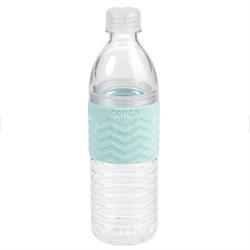 Hydra Bottle Chevron 16.9 Ounce, Robins Egg Blue