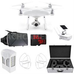 Phantom 4 Advanced Plus Quadcopter Drone w VR Headset 32GB Bundle (CP.PT.000698)
