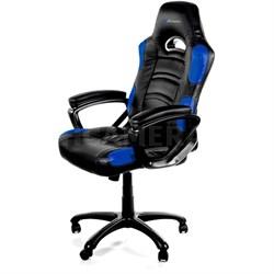 Enzo Gaming Racing Style Swivel Chair - Black/Blue