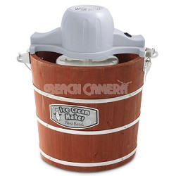 4 Quart Wooden Ice Cream Maker