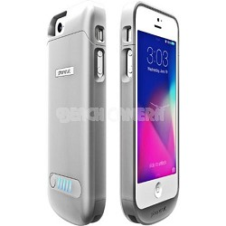 Elite Battery Case for iPhone 5 (Silver)