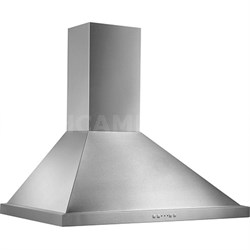 """30"""" 500 CFM Range Hood Traditional Canopy in Stainless Steel - EW5830SS"""