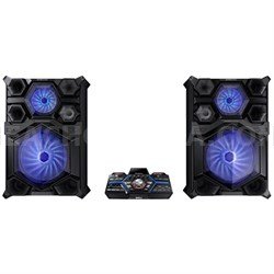 MX-JS9500 Giga Sound System with 18-inch Woofer, 4000 Watts - ***PICK UP ONLY***