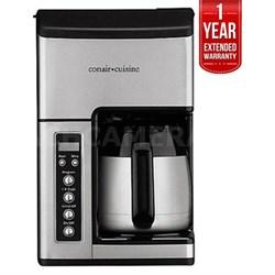 Grind & Brew 10-Cup Coffeemaker Certified Refurbished+1 Year Warranty
