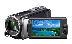HDR-CX190 HD Camcorder 25x Optical Zoom 5.3 MP Stills (Black) - OPEN BOX