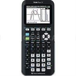 Plus CE Graphing Calculator in Black - 84PLCE/TBL/1L1