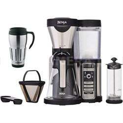 CF081 Coffee Bar Brewer w/Glass Carafe & Reusable Filter w Copco 24oz Mug Bundle