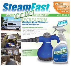 "Steam Cleaner & CleanFast Mildew Stain Cleaner ""Value Pack"""