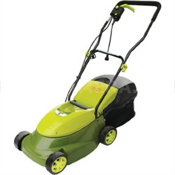 MJ401E Mow Joe 14-Inch 12-Amp Electric Lawn Mower with Grass Catcher