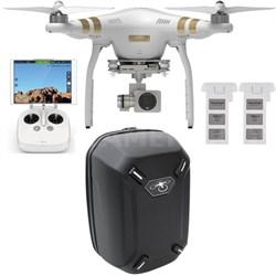 Phantom 3 Professional Quadcopter Drone w/ 4K Camera + Backpack & Extra Battery