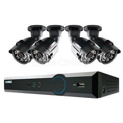 Eco3 Stratus Cloud 4 ch 500GB DVR with 4 Indoor/Outdoor Night Vision Cameras