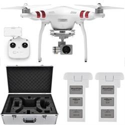 Phantom 3 Standard Quadcopter Drone w/ 2.7K Camera + Extra Battery and Hard Case