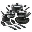 Silverstone Colors 13pc. Cookset Black