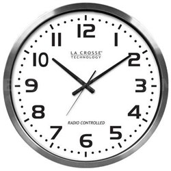 20-inch Extra Large Atomic Wall Clock - 404-1220