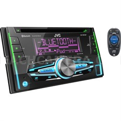 KWR910BT Double-DIN Bluetooth CD/USB Receiver - ***AS IS***
