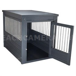 Small InnPlace II Pet Crate in Espresso - EHHC402S