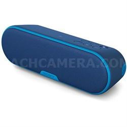 SRS-XB2 Portable Wireless Bluetooth Speaker - Blue (OPEN BOX)