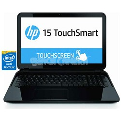 "TouchSmart 15.6"" HD 15-d040nr Notebook PC - Intel Pentium N3510 Processor"