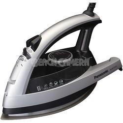 NI-W750TS - 360-Degree Quick Multi-Directional Steam Iron, Silver and Black