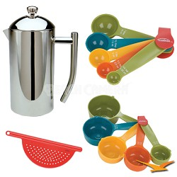 Ultimo French Presses  17 oz Bundle
