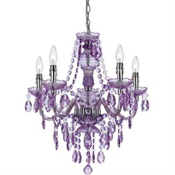 Fulton 5 Light Chandelier- Grape - 8526-5H