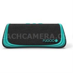 Sport Portable Waterproof Speaker with Bluetooth - Black/Green (F6SPKG01)