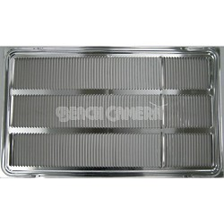 Stamped Aluminum Air Conditioner Rear Grille for 26-inch Wall Sleeve - AXRGALA01