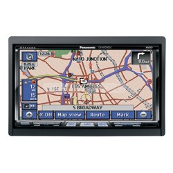 """Strada In-Dash Mobile Navigation System with 7"""" Widescreen Color LCD Monitor/DVD"""