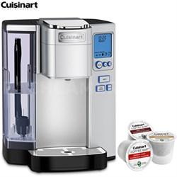 SS-10 Premium Single Serve Coffeemaker (Refurbished) w/Asst K Cup Sample Pack