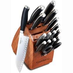 Contemporary Cutlery 17-pc. Knife Block Set - 1808008
