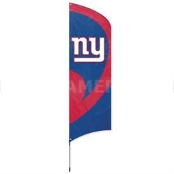 New York Giants Tall Team Flag w/ Pole - TTGI