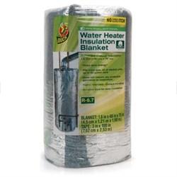 Duck Brand 280464 Water Heater Insulation Blanket, 1.8-Inch x 48-Inch x 75-Inch