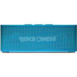 Superior Sound Soundbrick Bluetooth Blue Stereo Speaker with Built-in Mic
