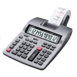 Compact Desktop Printing Calculator Black/Red Print 2.4 Lines/Sec - HR150TM