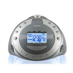 Sound Spa Platinum Relaxation Machine with Atomic Clock, Radio and CD Player