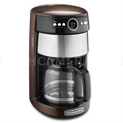 14 -Cup Glass Carafe Coffee Maker in Espresso - KCM1402ES