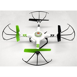 Quadrone Quadcopter w/ Wide Screen Live Streaming 4 Channel 2.4GHz RC Drone